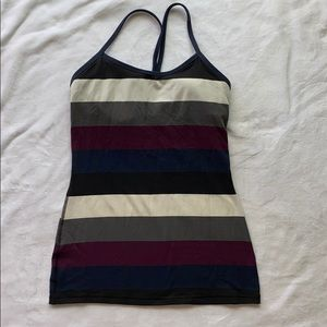 Lululemon striped Power Y Tank 4?